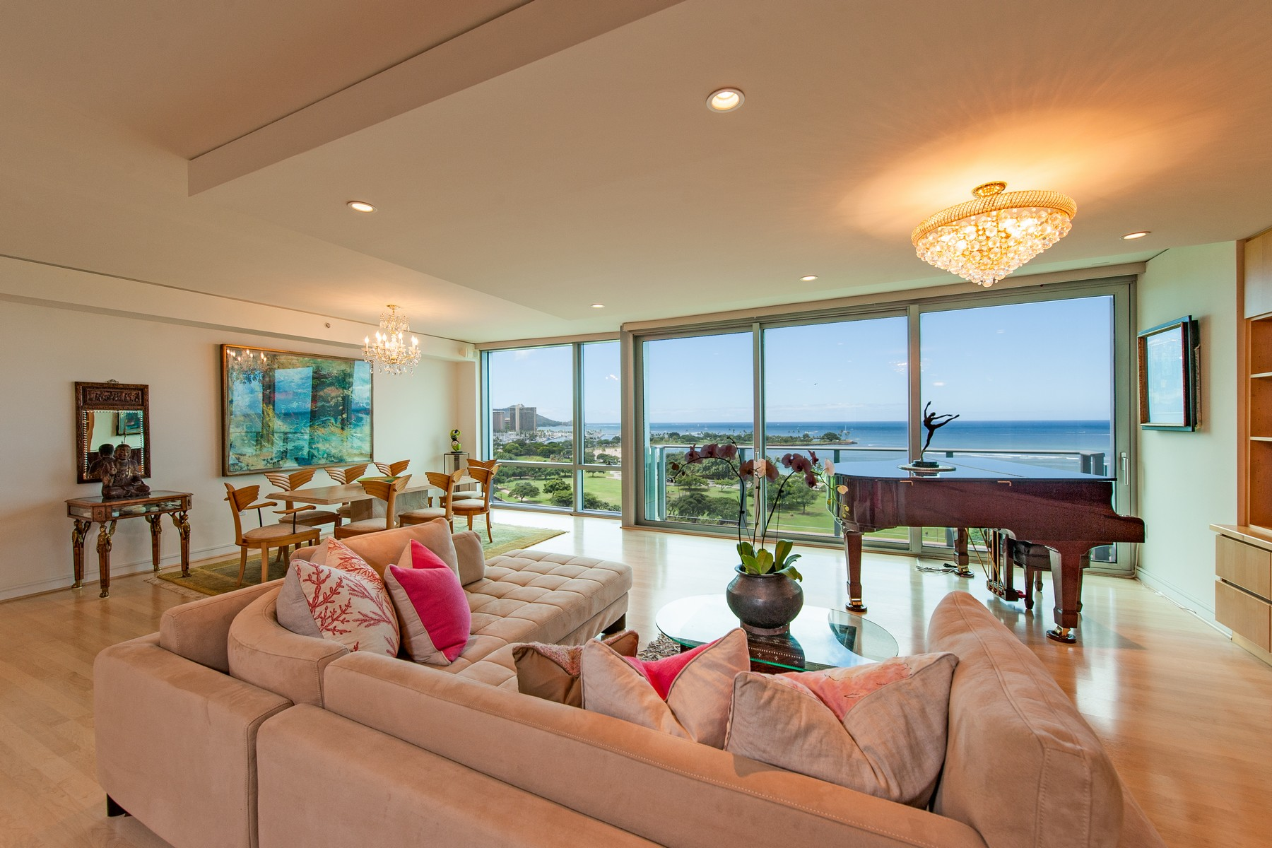 Condominium for Sale at Spectacular Ocean View Condo 1288 Ala Moana Blvd #12E & 12F Honolulu, Hawaii, 96814 United States