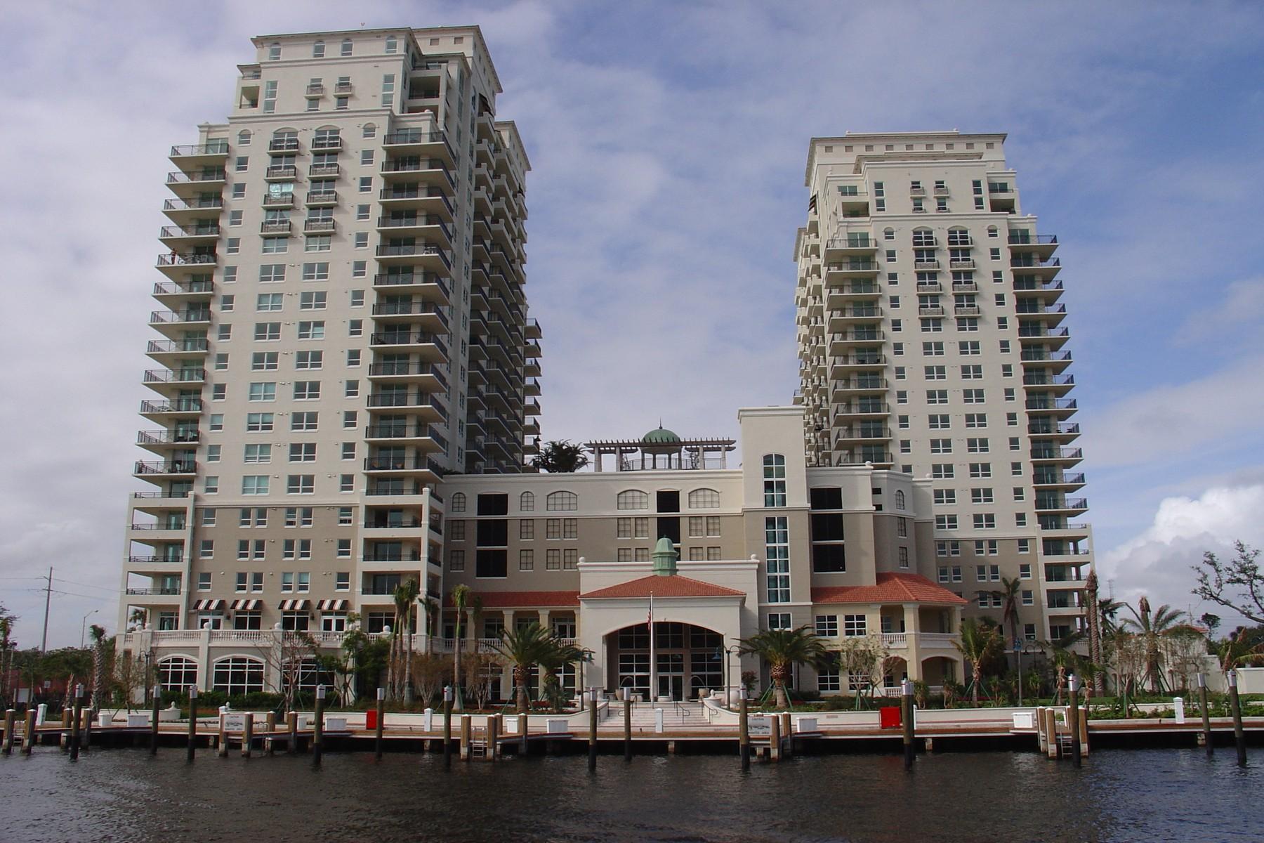 Maison unifamiliale pour l Vente à Symphony 610 W. Las Olas Blvd. #2011 Fort Lauderdale, Florida 33312 États-Unis