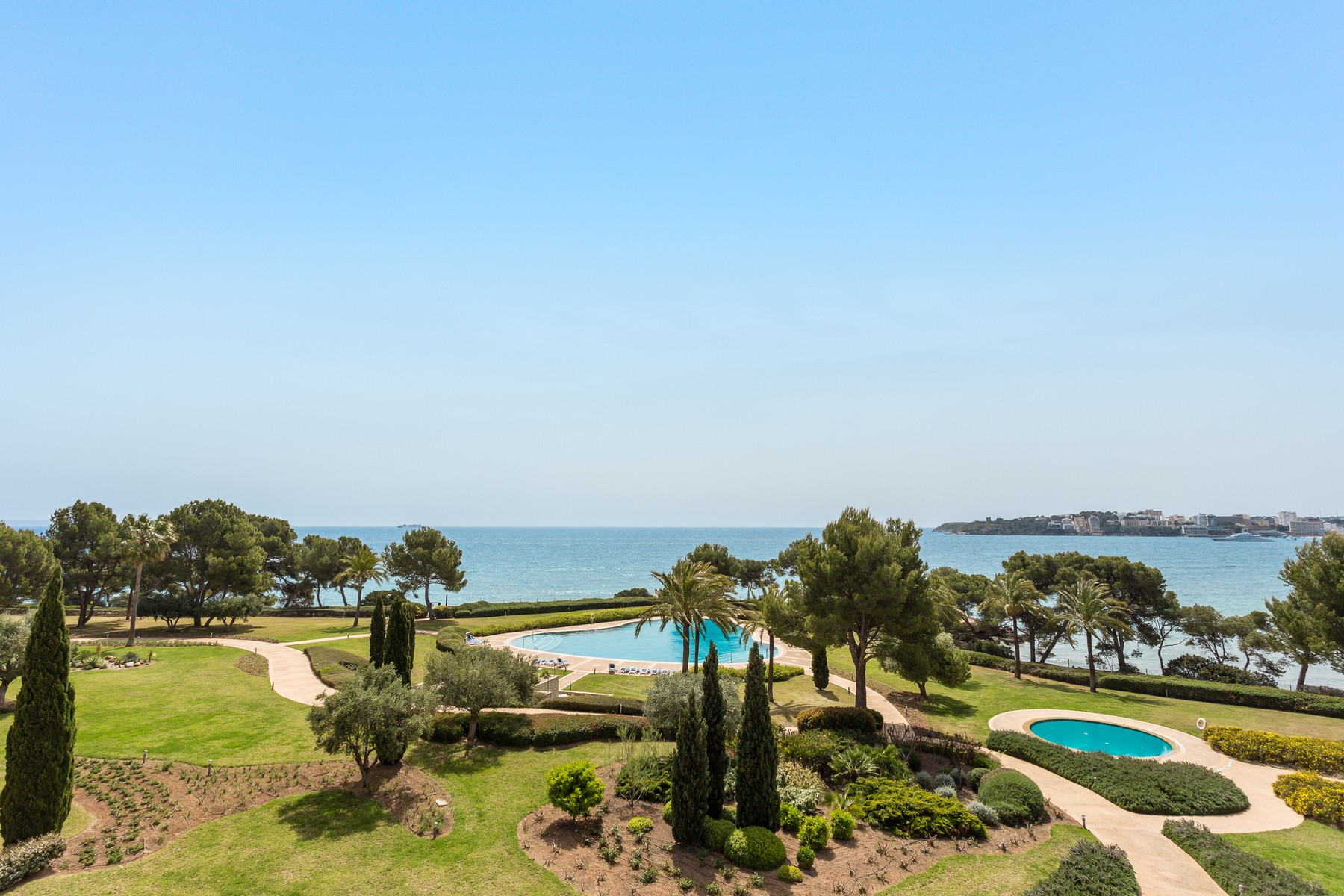 Single Family Home for Sale at Elegant penthouse with sea view Portals, Mallorca 07181 Spain