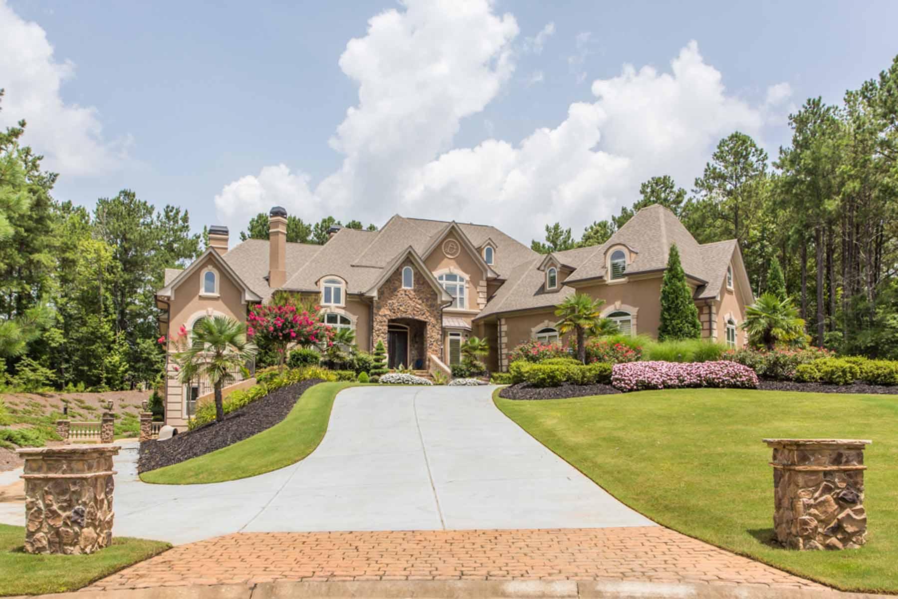 Vivienda unifamiliar por un Venta en Spectacular Show Home! 1010 Legacy Hills Drive McDonough, Georgia 30253 Estados Unidos