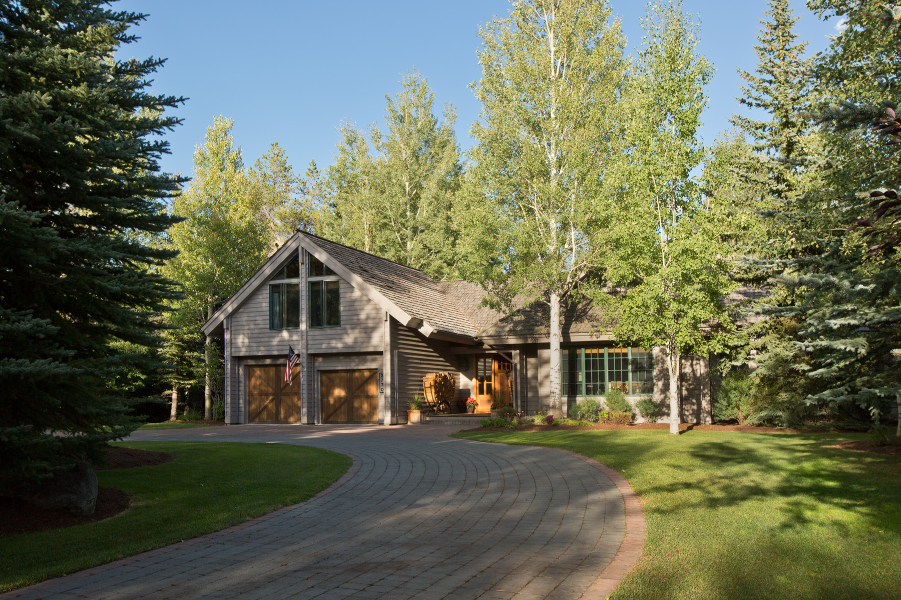 Property For Sale at Elegantly Appointed Teton Pines Home