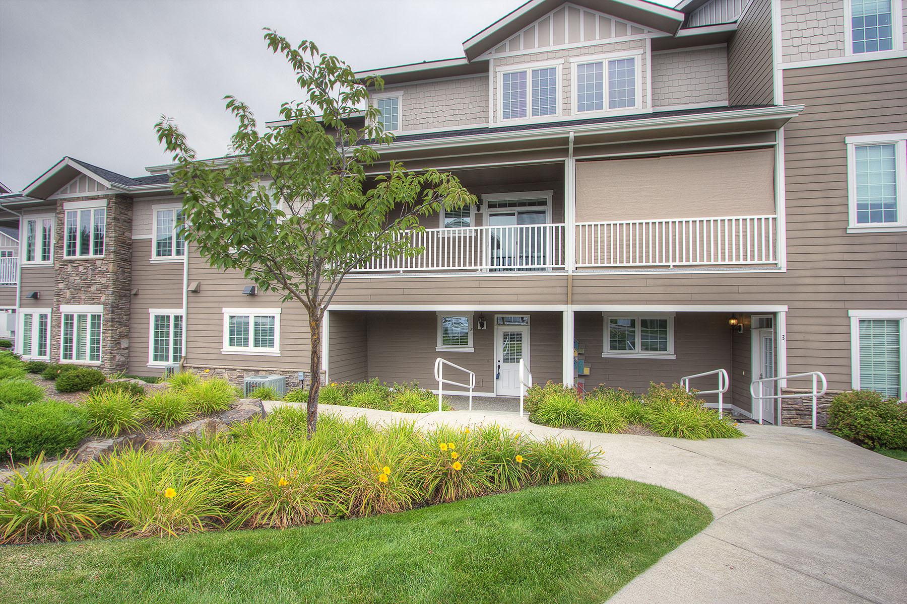 Maison unifamiliale pour l Vente à Mill River Condos 4457 W Greenchain Loop #2 Coeur D Alene, Idaho 83814 États-Unis