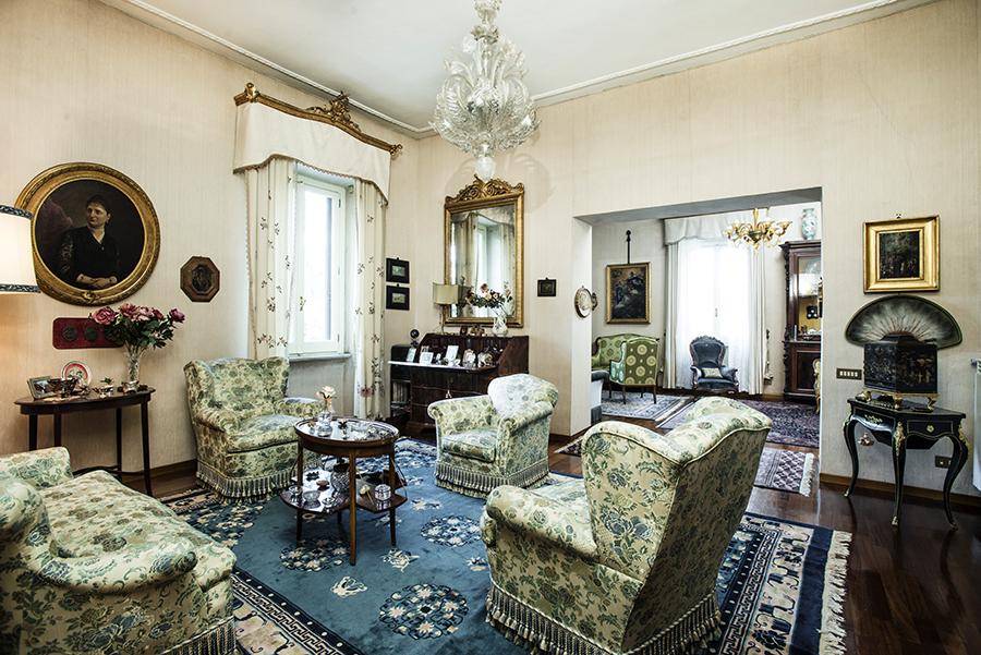 아파트 용 매매 에 Elegant apartment in Via Po Rome, 로마 00198 이탈리아