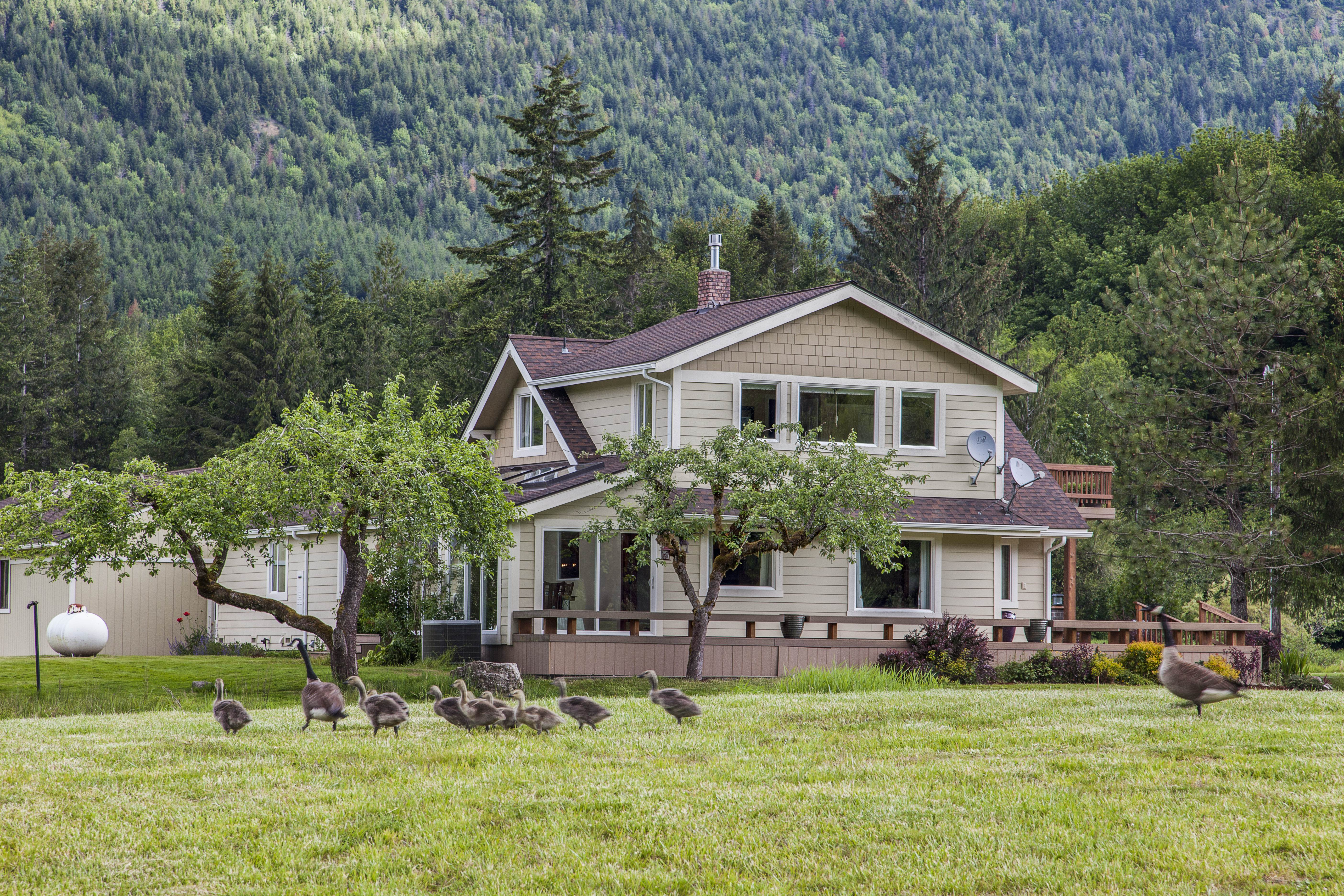 Additional photo for property listing at Spring Lakes Farm 237477 W Highway 101 Port Angeles, Washington 98363 United States