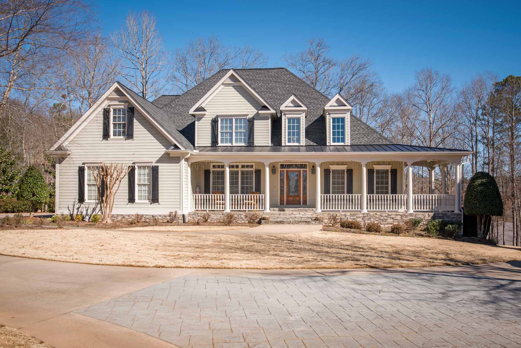 Single Family Home for Sale at Lake View Masterpiece 7525 Matts Landing Point Cumming, Georgia, 30028 United States