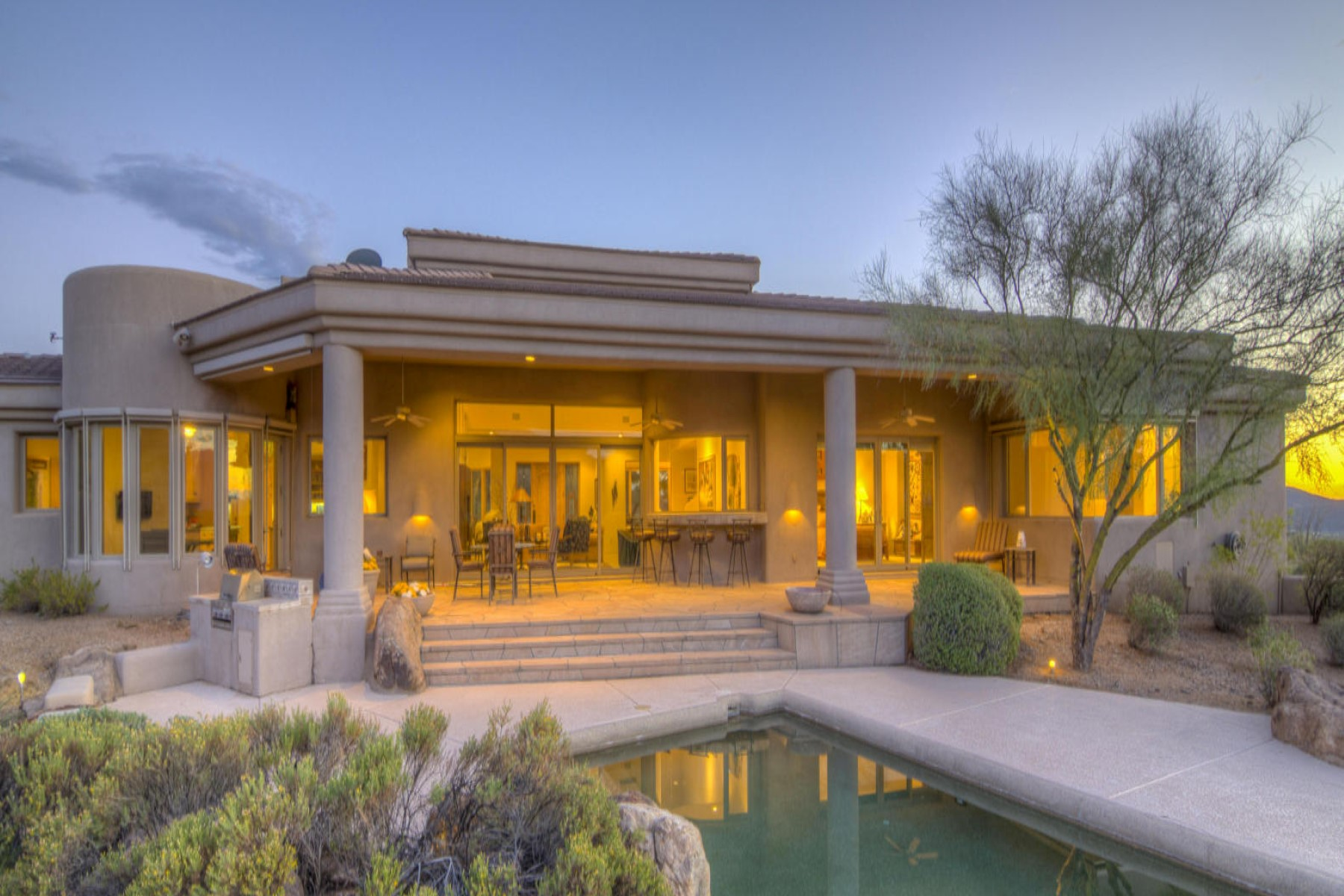 sales property at Stunning home on spectacular 10 acres - prime hilltop views and pristine desert
