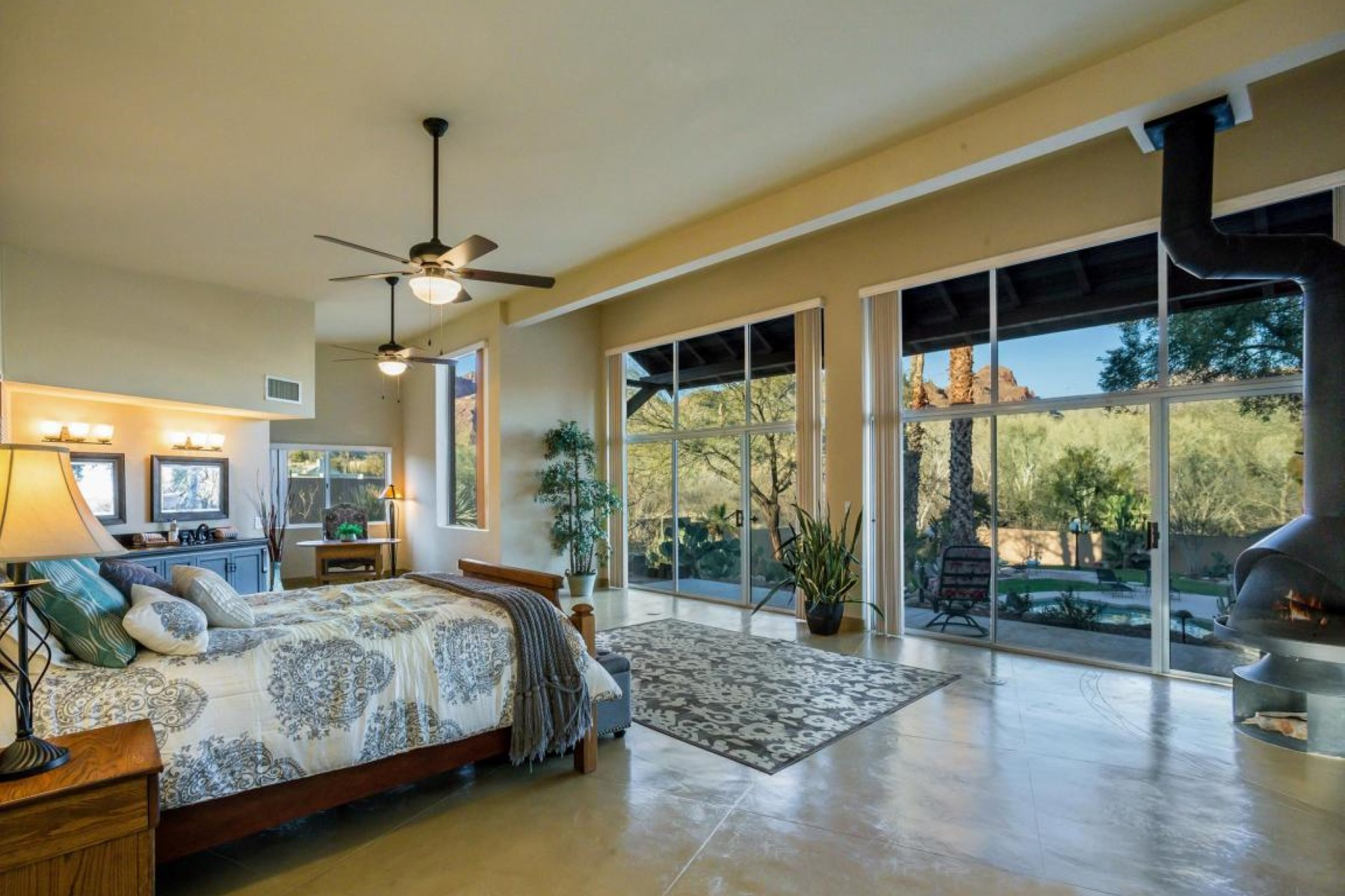 Single Family Home for Sale at Beautiful Tucson home with spectacular views 5150 N Hidden Valley Road Tucson, Arizona, 85750 United States