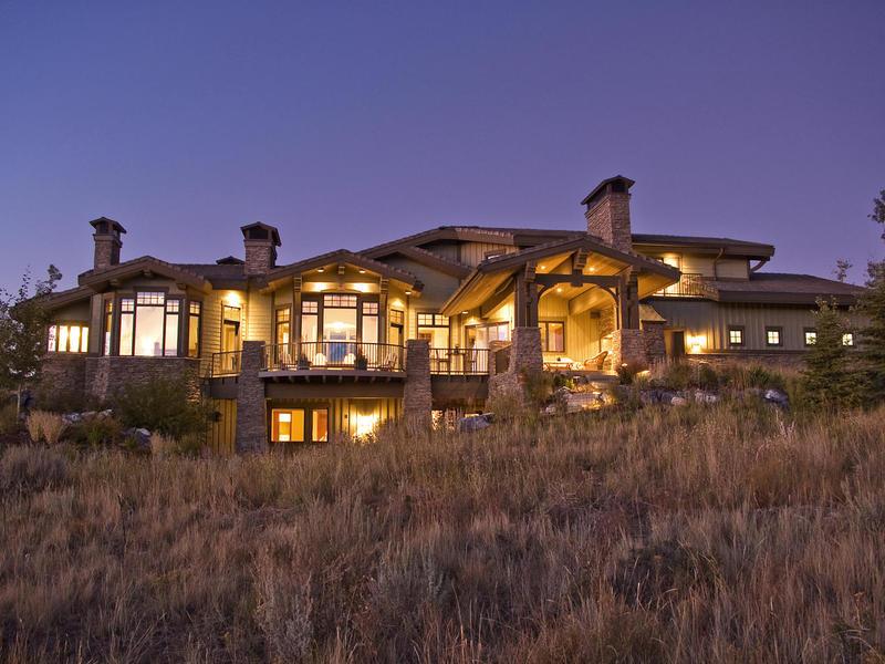 Villa per Vendita alle ore Grand Ski Resort Olympic Park and Golf Views 3206 Saddleback Ridge Dr Lot 21 Park City, Utah 84098 Stati Uniti