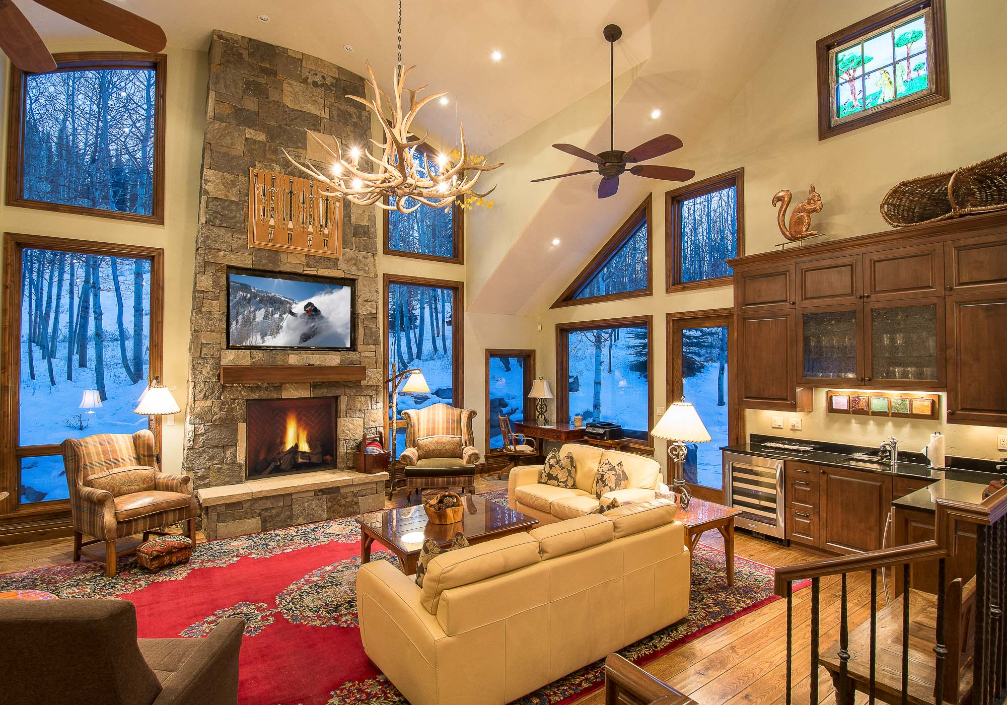 sales property at One-Of-A-Kind Ski Home