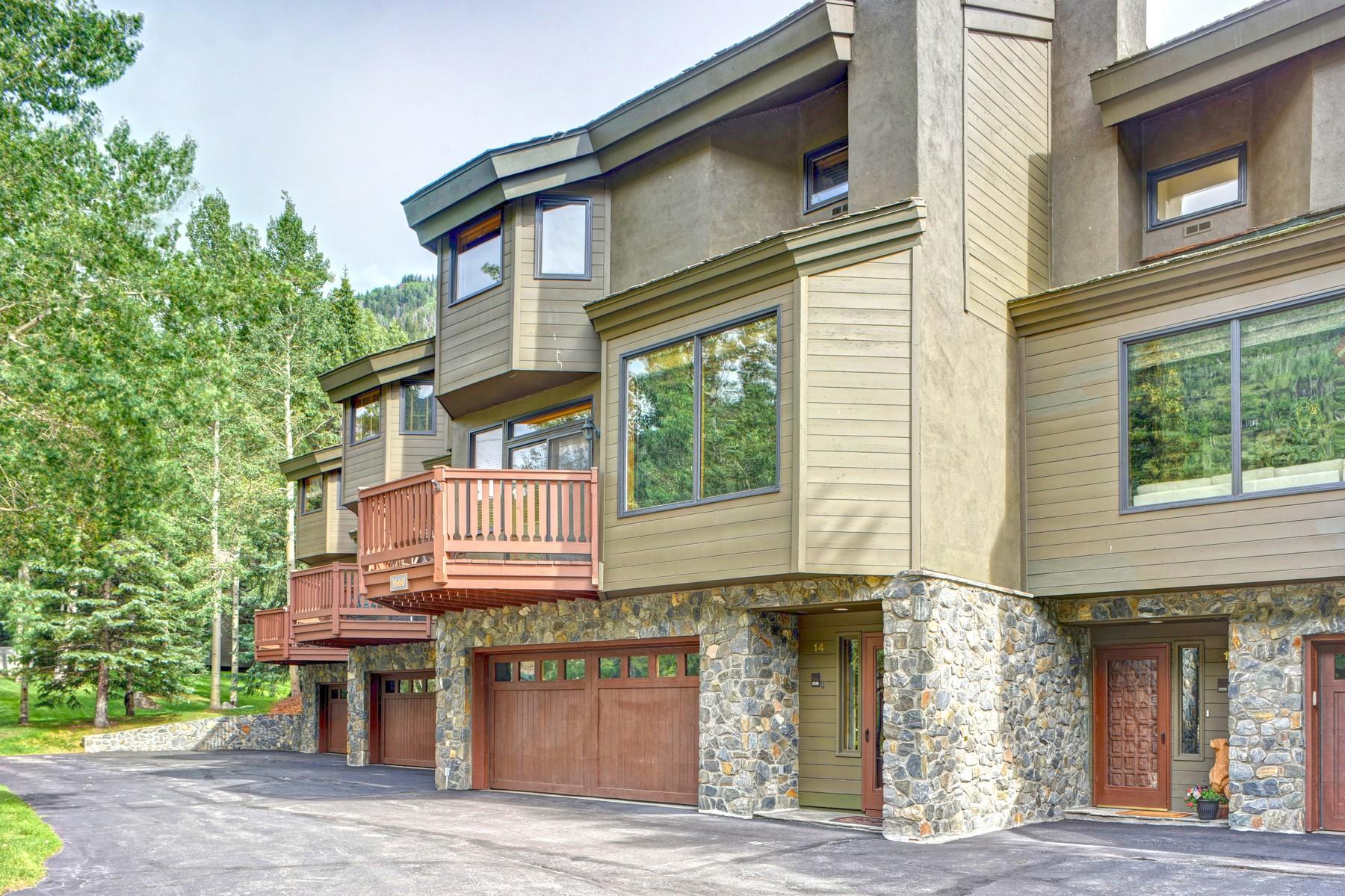 Townhouse for Sale at 1660 Sunburst 1660 Sunburst Dr #D14 Vail, Colorado, 81657 United States