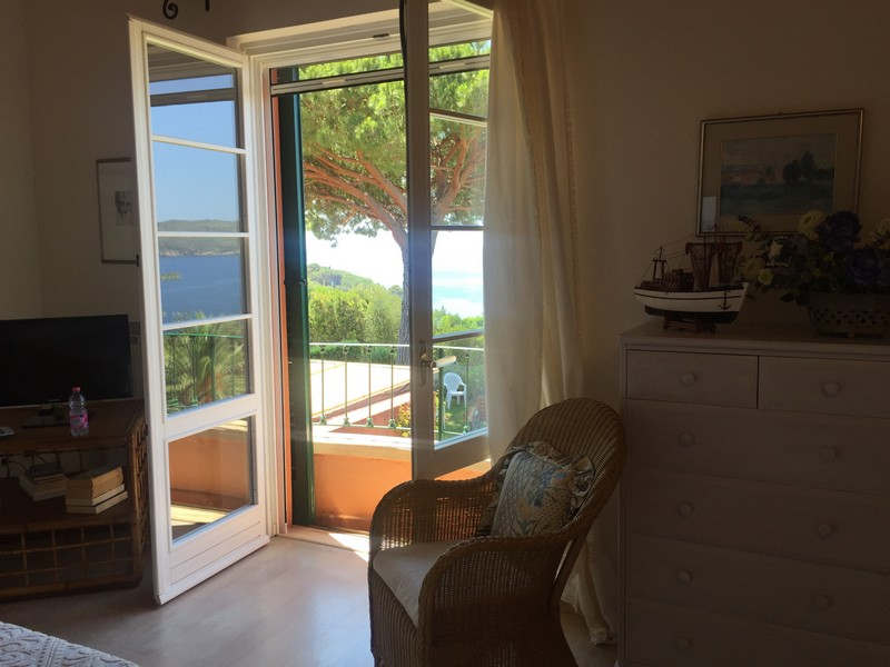 Additional photo for property listing at Luxury apartament overlooking the sea Località Zuccale Capoliveri, Livorno 57031 Italy