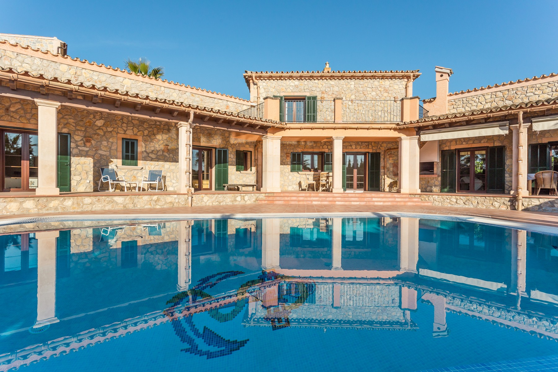 Single Family Home for Sale at Top Quality Rustic Style Villa With Stunning Views Calvia, Mallorca 07184 Spain