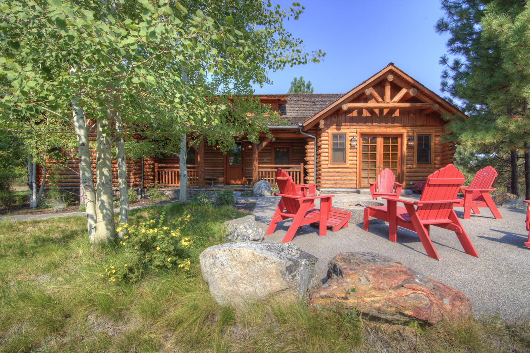 Maison unifamiliale pour l Vente à Stock Farm Cabin 28 770 Pallo Trail Hamilton, Montana 59840 États-Unis