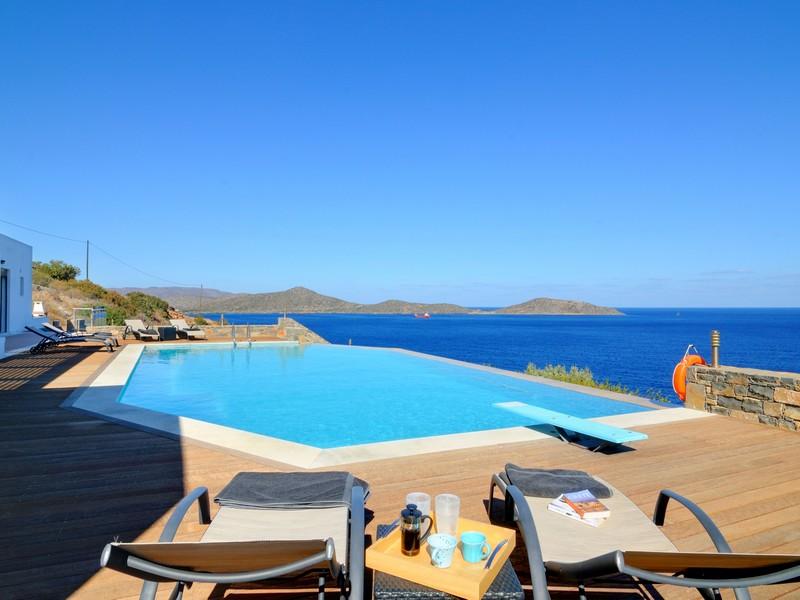 sales property at Elounda Sea Front Villa