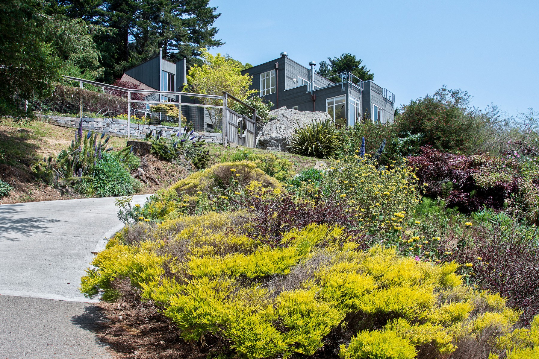 Single Family Home for Sale at Private Stinson Beach Paradise 7230 Panoramic Highway Stinson Beach, California 94970 United States