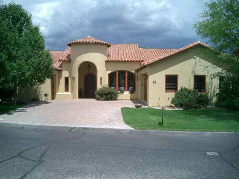 Maison unifamiliale pour l Vente à Beautiful Custom Home 68 Via Campestre Tubac, Arizona, 85646 États-Unis