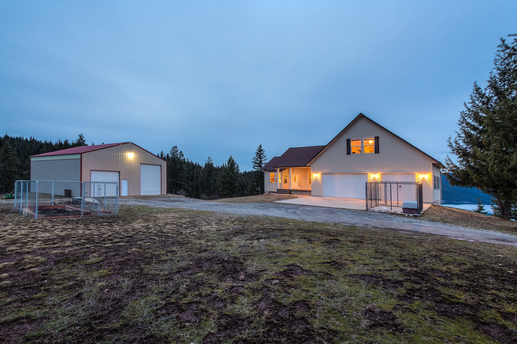 Property For Sale at Stunning Lake Views and Acreage Privacy