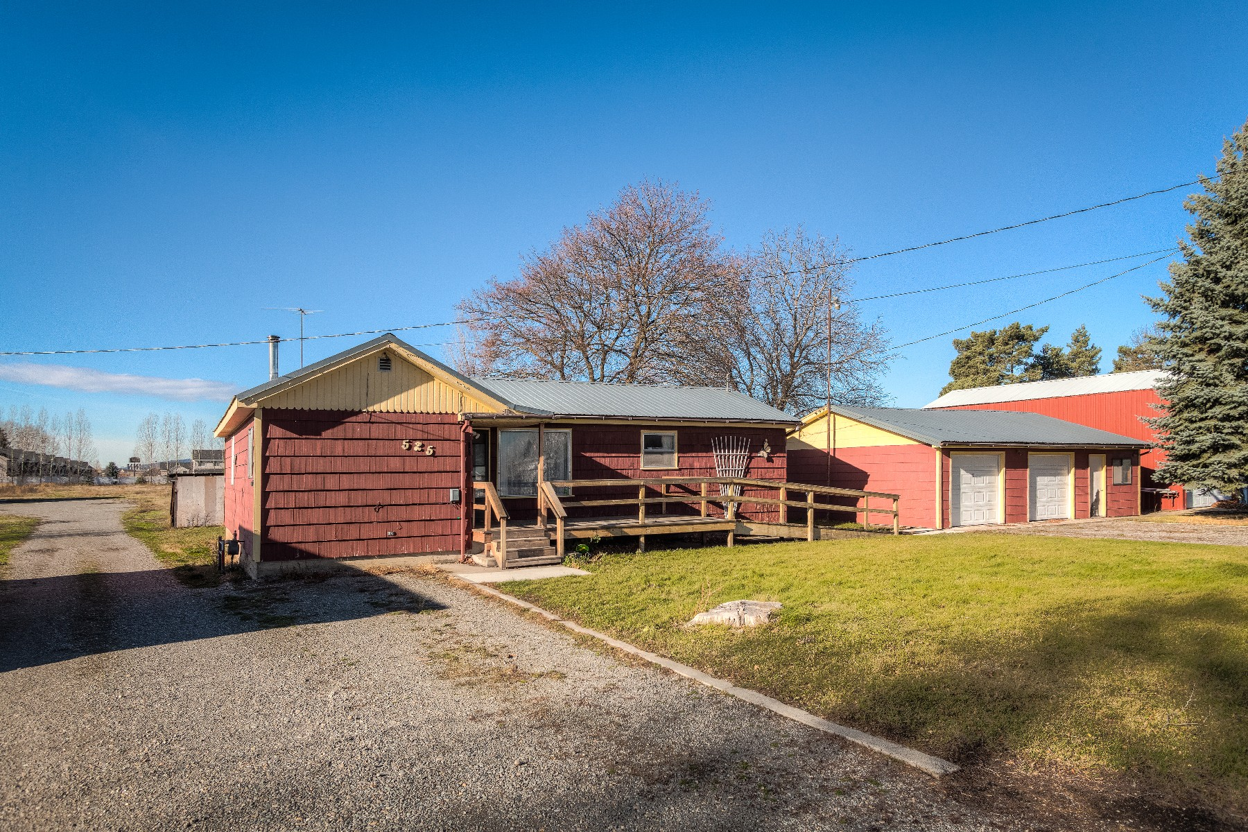Property For Sale at Single Level Rancher with SHOP