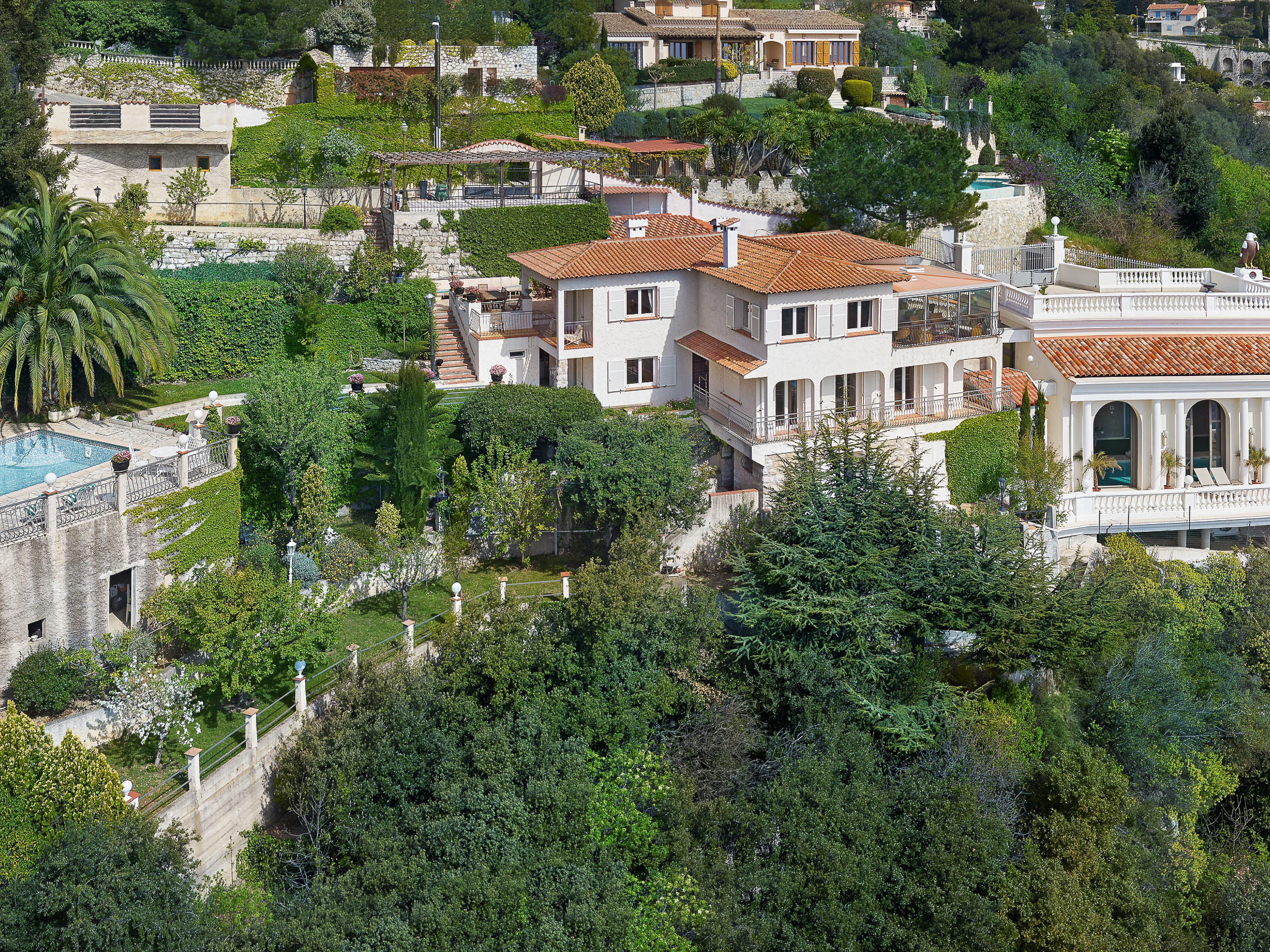 獨棟家庭住宅 為 出售 在 'Belle Epoque' style villa with panoramic views over the Sea and Monaco La Turbie Other Provence-Alpes-Cote D'Azur, 普羅旺斯阿爾卑斯藍色海岸 06320 法國