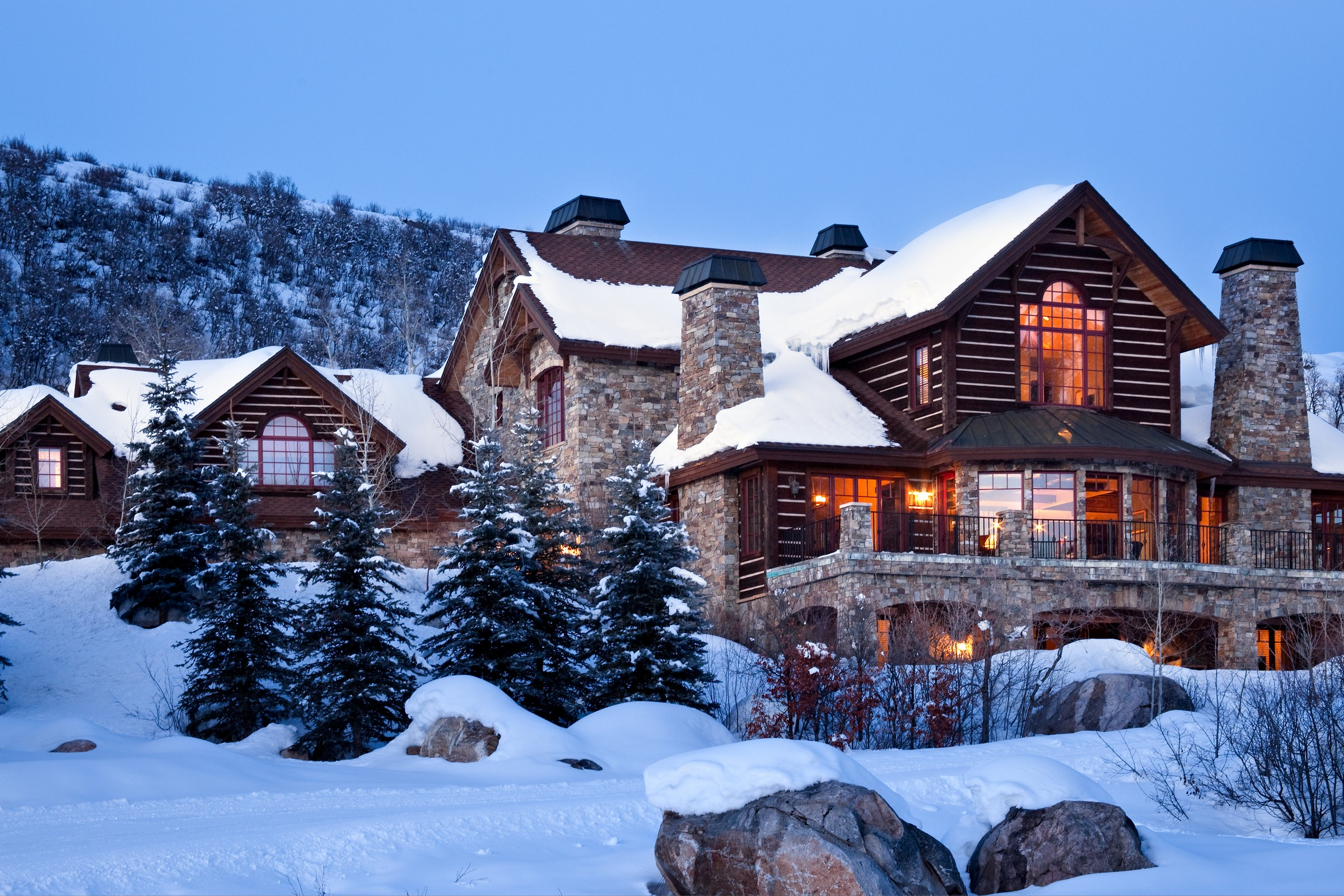Single Family Home for Sale at The Sanctuary 2275 Golf View Way Steamboat Springs, Colorado, 80487 United States