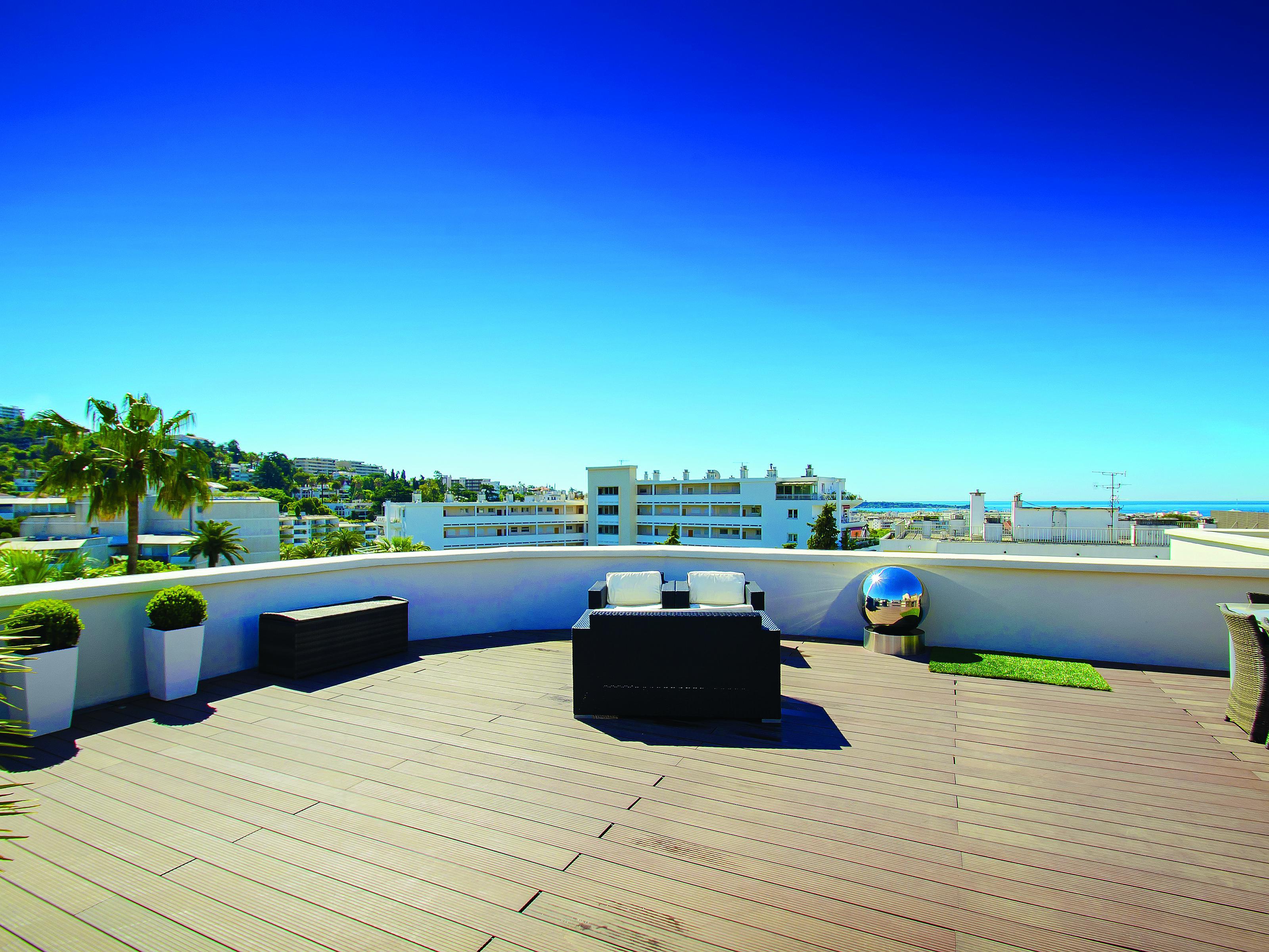 Apartman Dairesi için Satış at Luxury penthouse with beautiful roof garden for sale in Cannes Cannes, Provence-Alpes-Cote D'Azur 06400 Fransa