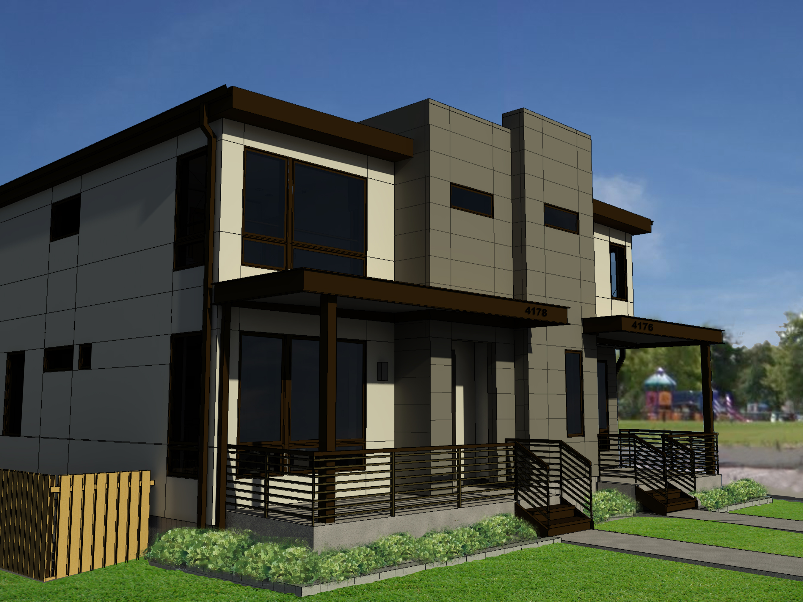 Single Family Home for Sale at New Construction! 4178 Utica Street Denver, Colorado 80212 United States