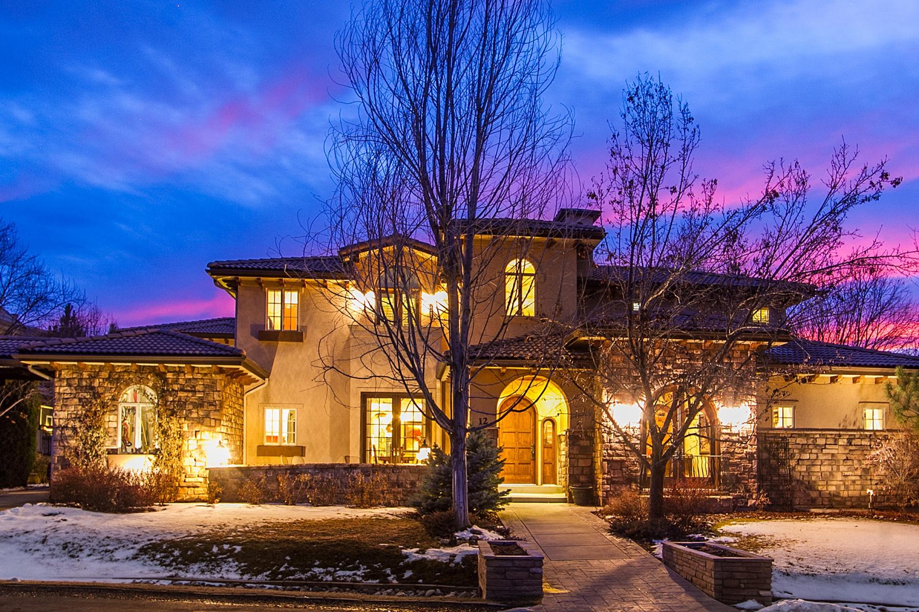 Single Family Home for Sale at Beautiful Buell Mansion family home, interior location with designer upgrades! 12 Foxtail Cir Cherry Hills Village, Colorado 80113 United States