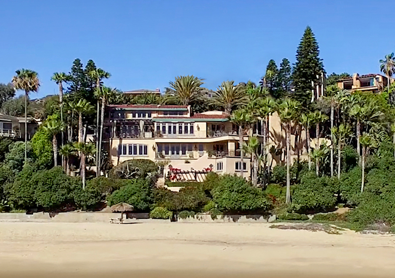 Single Family Home for Sale at Villa Dei Tramonti 2431 Riviera Drive Laguna Beach, California 92651 United States