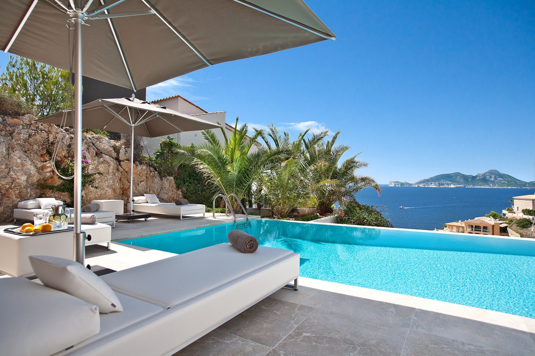 Single Family Home for Sale at Tranquil villa with sea views in Port Andratx Port Andratx, Mallorca 07157 Spain