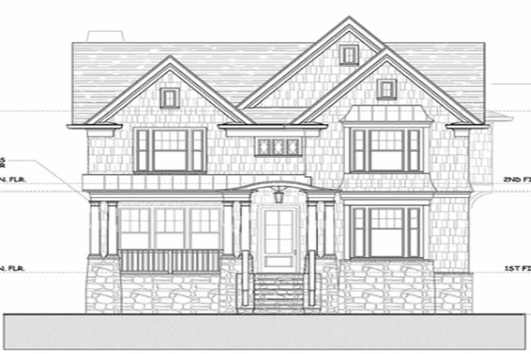 Single Family Home for Sale at New construction by JackBilt Homes. 797 Yorkshire Road NE Morningside, Atlanta, Georgia, 30306 United States