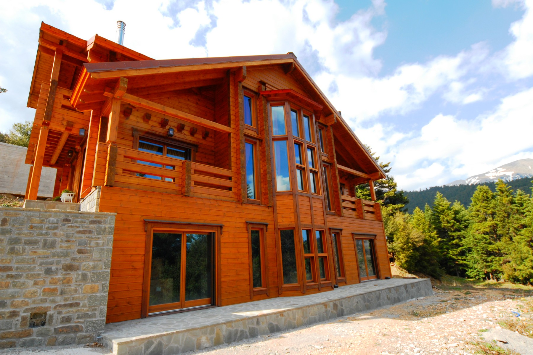 Single Family Home for Sale at Chalet in Karpenisi Karpenisi, Evritania Other Central Greece, Central Greece, 36100 Greece