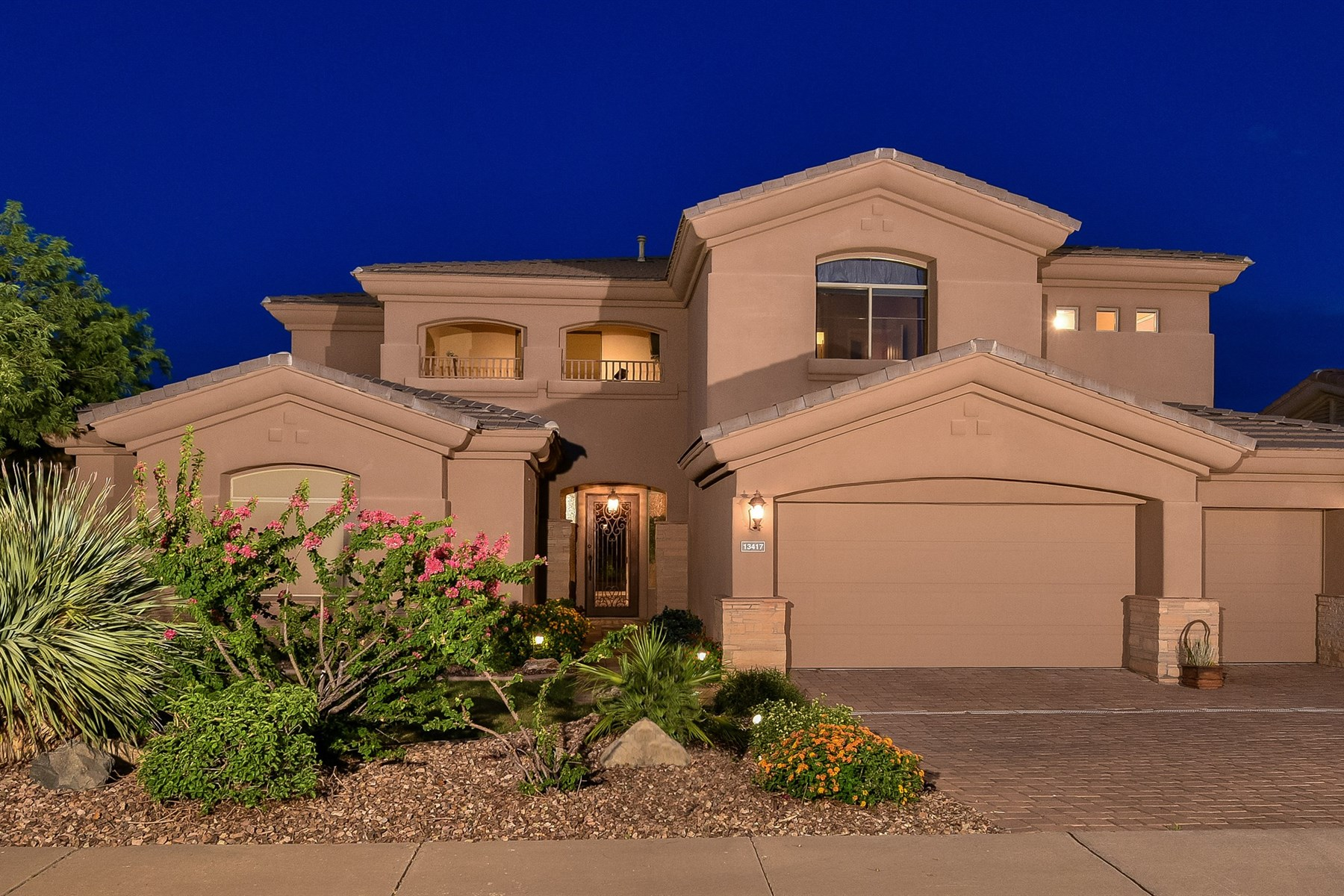 Property For Sale at You can be on vacation every day in your new home with golf and mountain views.