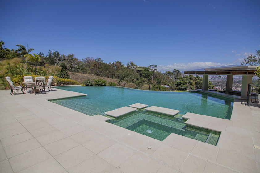 Additional photo for property listing at Mountain Top Mansion with views of Central Valley Escazu, San Jose Costa Rica