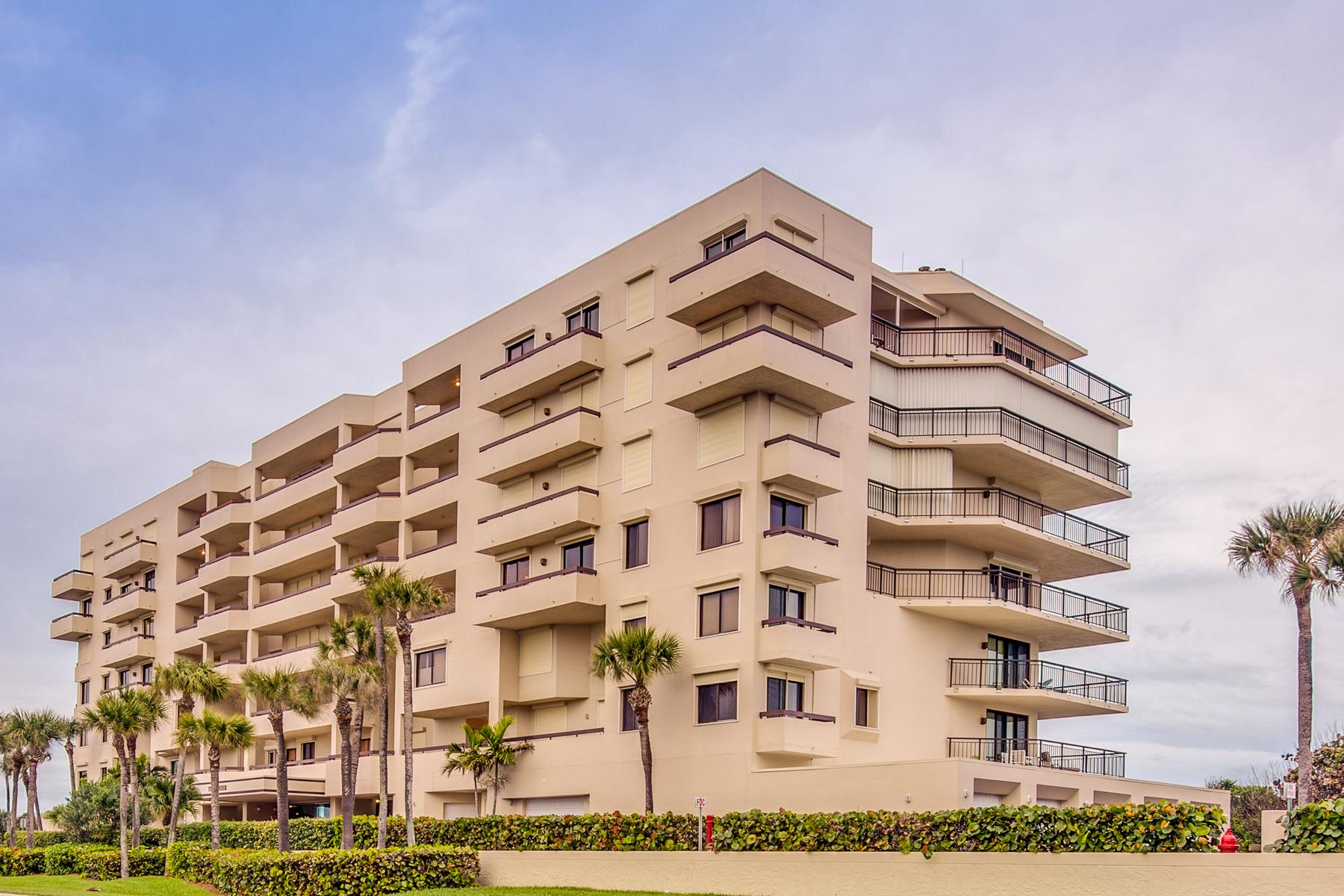 共管式独立产权公寓 为 销售 在 Tidewater Condo 7415 Aquarina Beach Dr., #604 墨尔本海滩, 佛罗里达州, 32951 美国