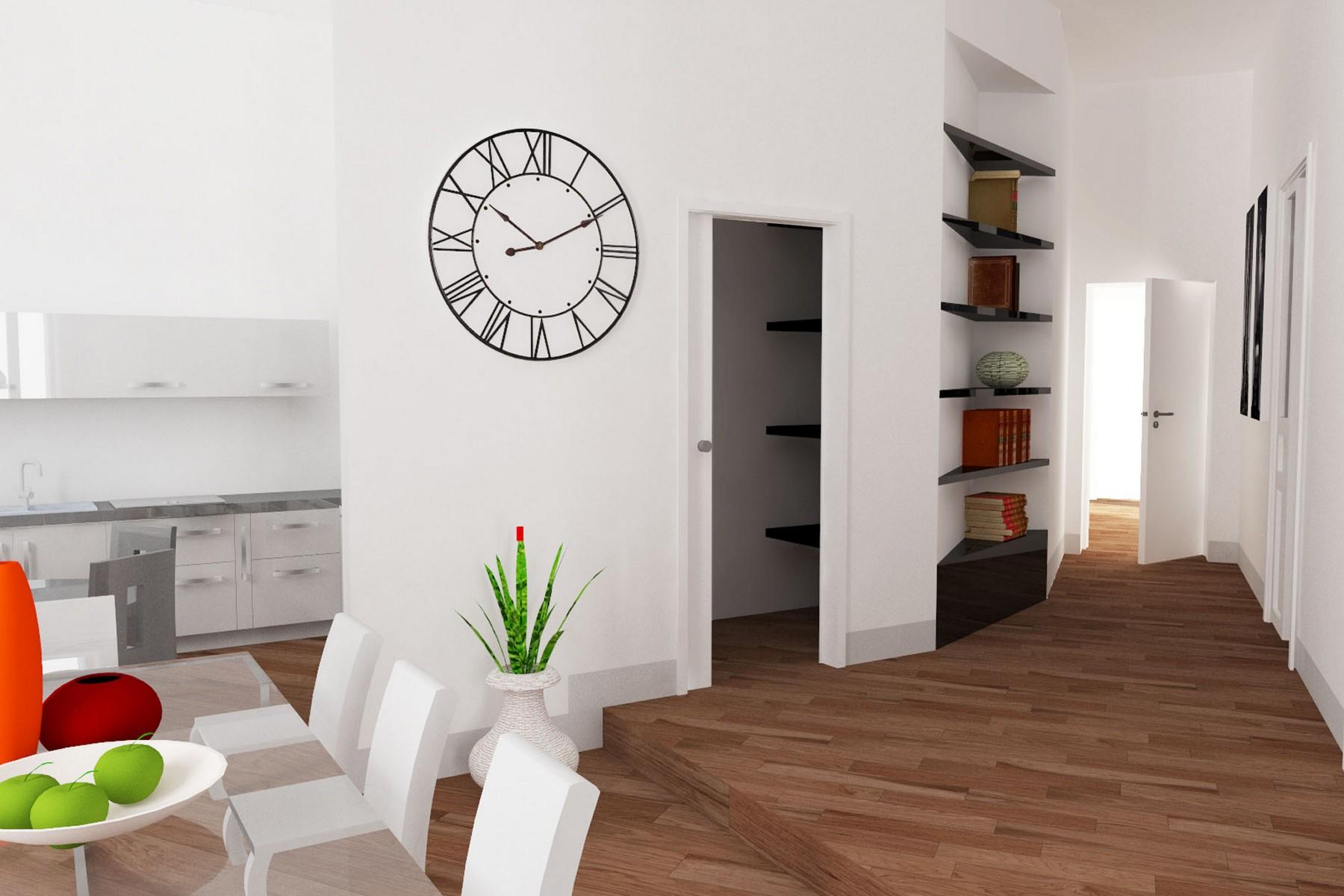Single Family Home for Sale at Bright apartment in historic building Corso Peschiera Torino, Turin 10138 Italy