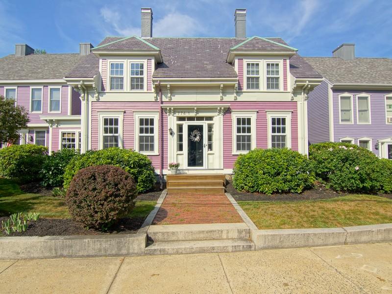 Кооперативная квартира для того Продажа на Elegant Living City Style 774 Middle Street Unit 1 Portsmouth, Нью-Гэмпшир 03801 Соединенные Штаты