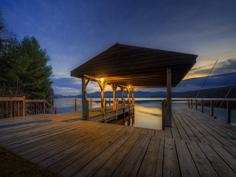 Single Family Home for Sale at Lake George Waterfront 69 Vandecar Lane Lake George, New York 12845 United States