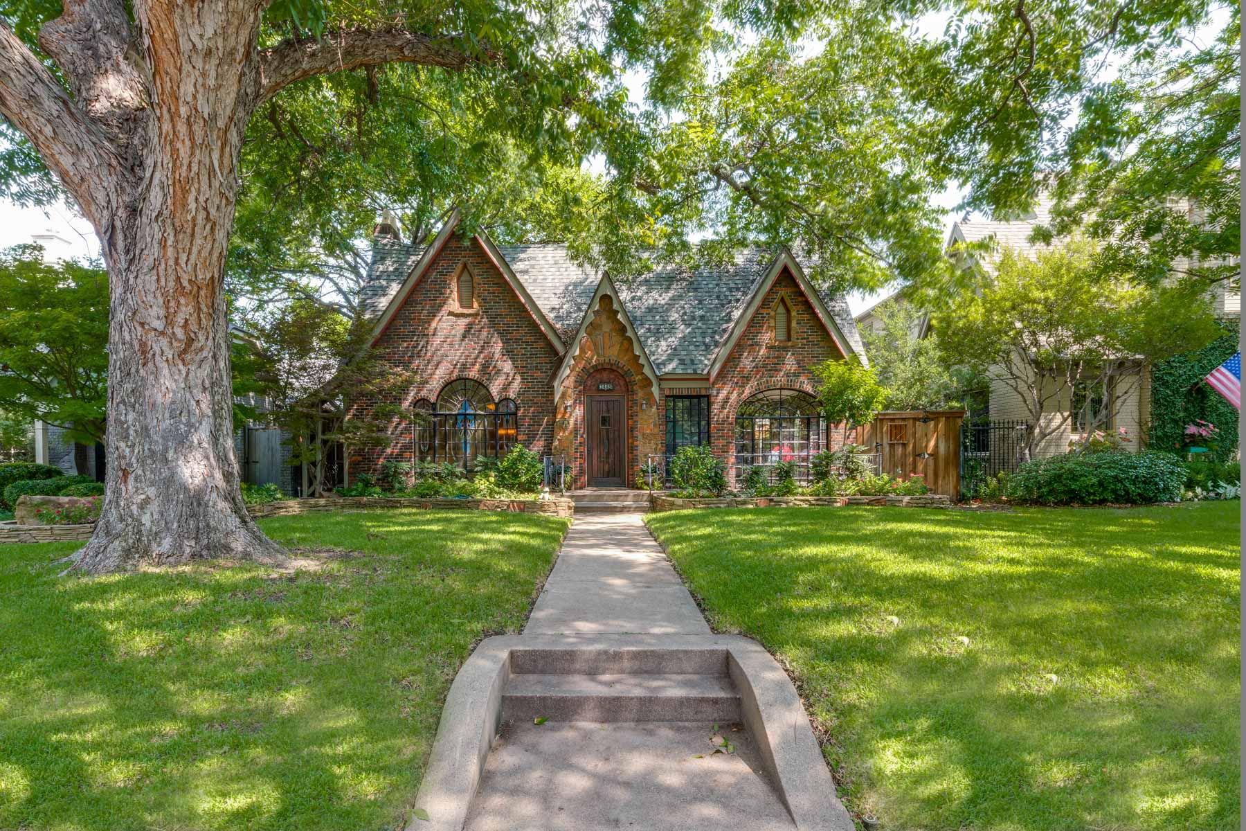 Single Family Home for Sale at Landmarked University Park Tudor 3448 Stanford Avenue Dallas, Texas 75225 United States