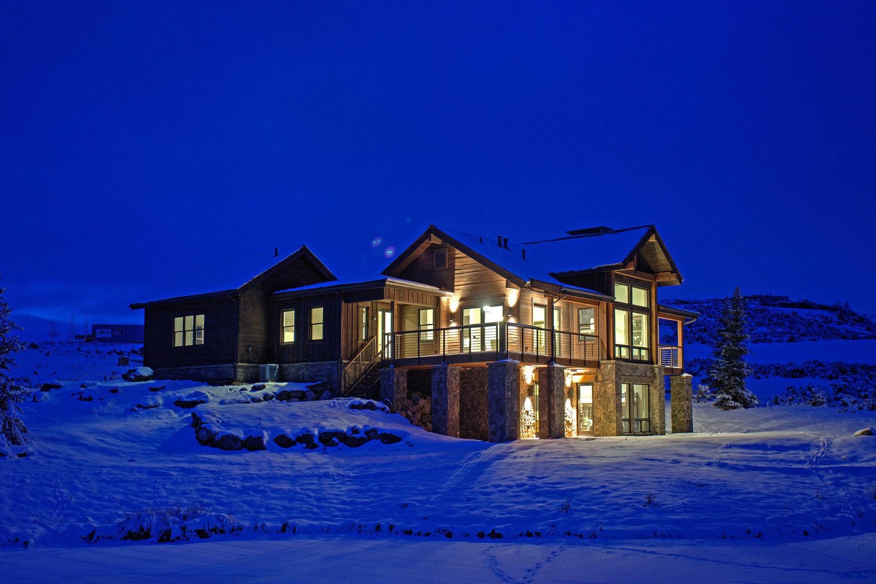 단독 가정 주택 용 매매 에 Juniper Cabin with Spectacular Views 6681 E Moonlight Dr Heber, 유타 84032 미국