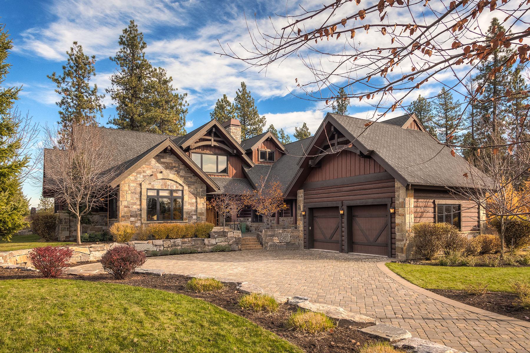 Частный односемейный дом для того Продажа на Exquisite Gozzer Ranch Estate 6372 S Old Barn Rd Harrison, Айдахо 83833 Соединенные Штаты
