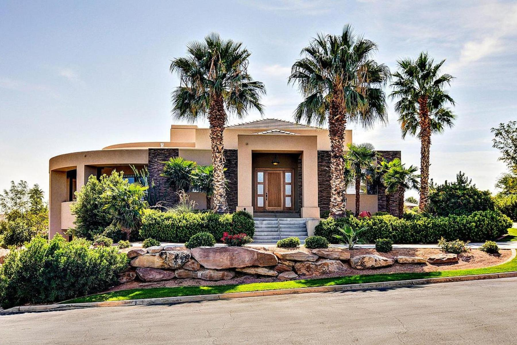 Single Family Home for Sale at Luxurious Contemporary Design with Pool 2266 Stone Cliff Dr St. George, Utah 84790 United States