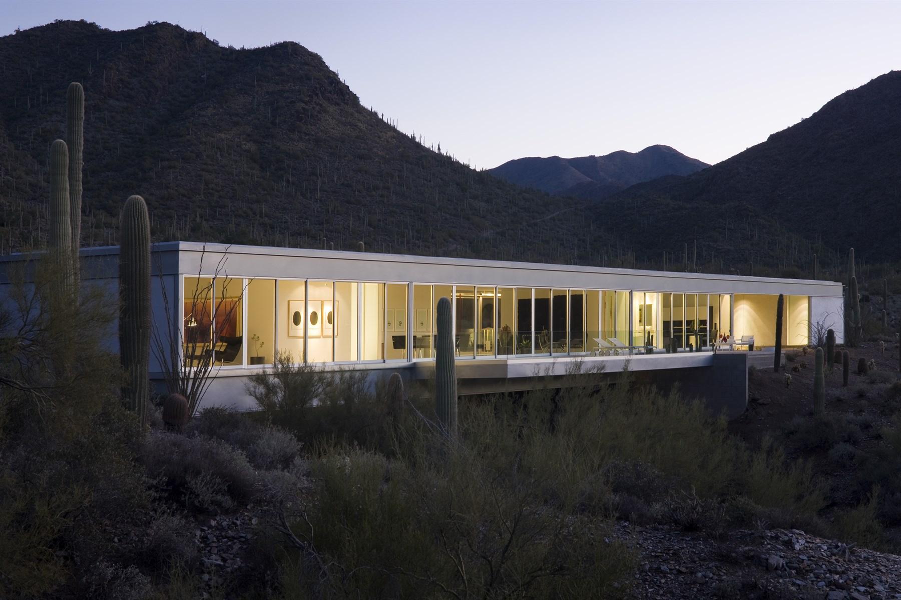 Casa Unifamiliar por un Venta en Extraordinary architectural masterpiece 7120 E Sierra Vista Rd Cave Creek, Arizona 85331 Estados Unidos