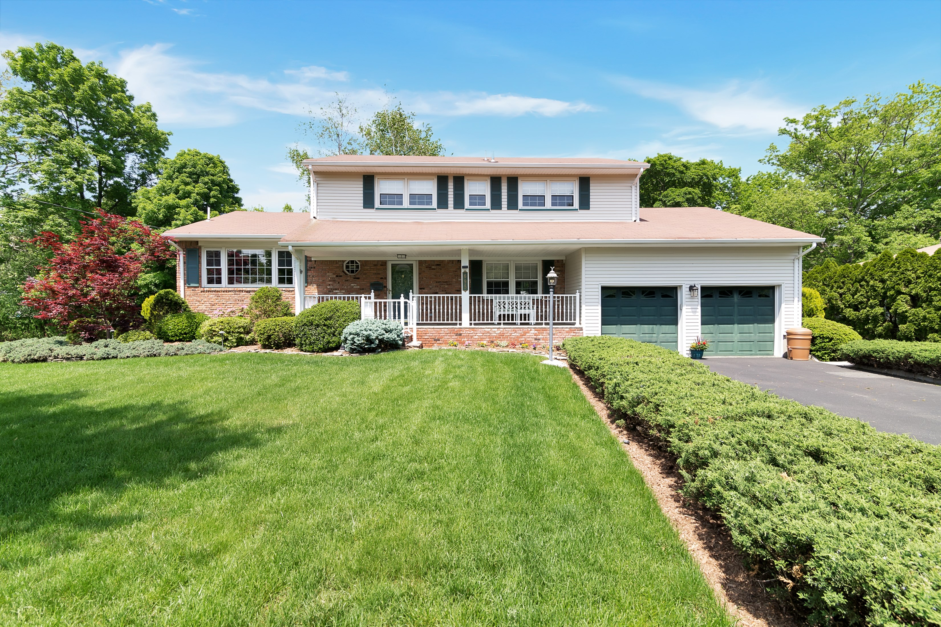 sales property at Fabuloua Center Hall Colonial.