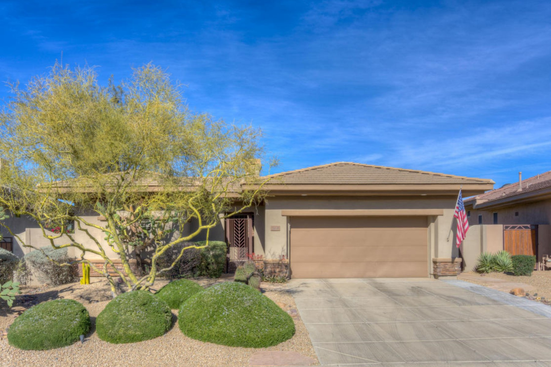 Maison unifamiliale pour l Vente à Beautiful home the wide open space and sunset views 7604 E Balao Dr Scottsdale, Arizona 85266 États-Unis