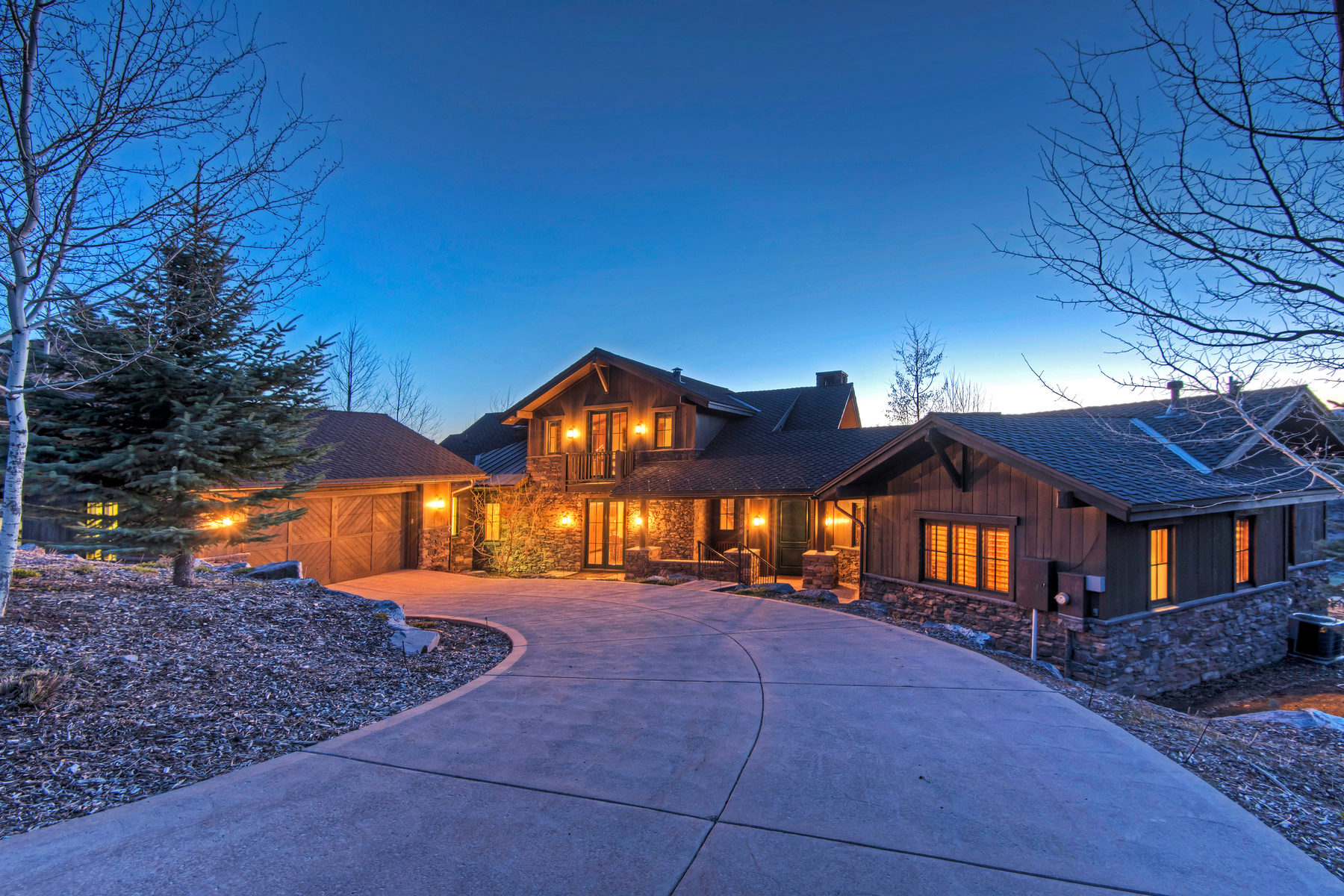 Casa Unifamiliar por un Venta en Premier Golf Club Cabin With Spectacular Views 8699 Ranch Club Court Park City, Utah, 84098 Estados Unidos