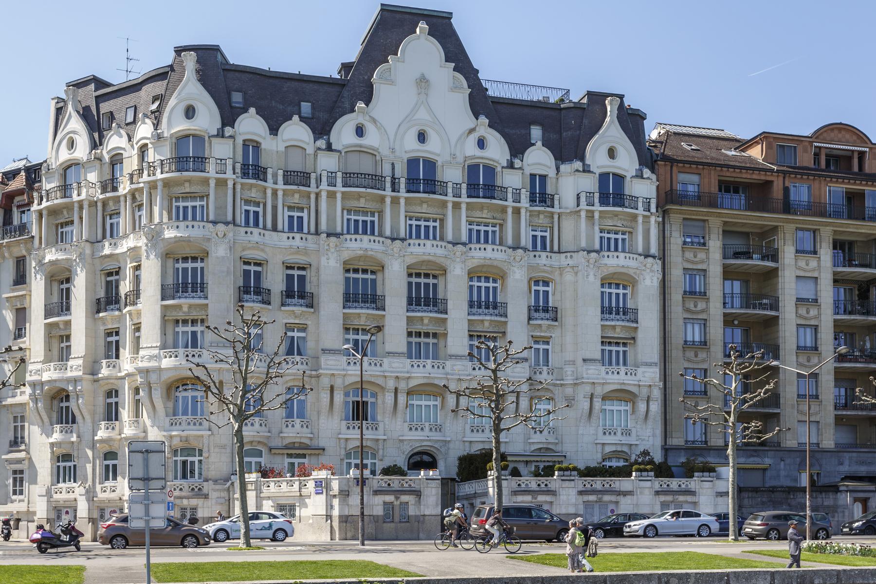 Apartamento por un Venta en Amazing view from Quai Wilson Geneva 1201 Geneva, Geneve 1201 Suiza