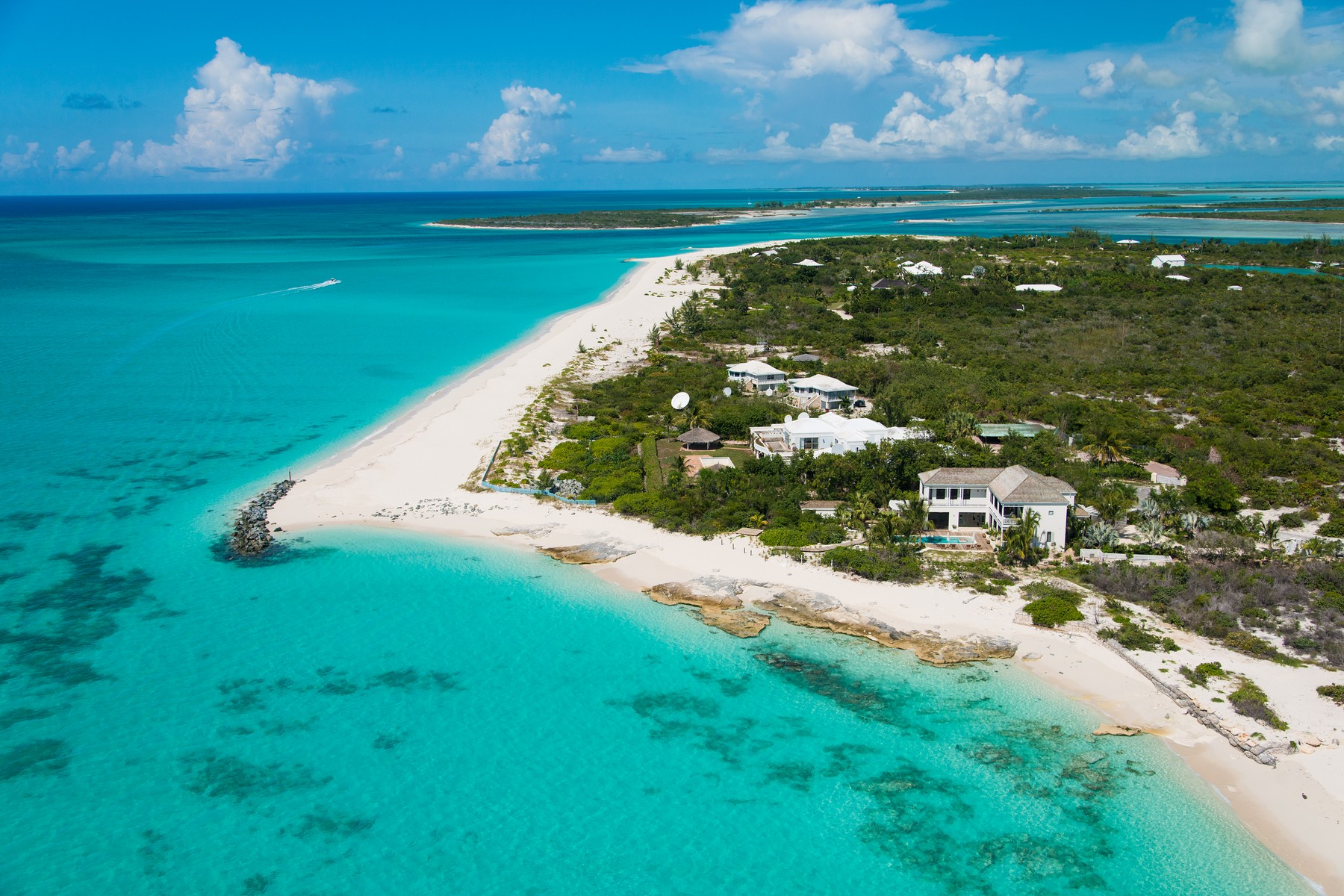 Single Family Home for Sale at Saving Grace - Luxurious Beachfront Villa Grace Bay, Providenciales, TCI BWI Turks And Caicos Islands