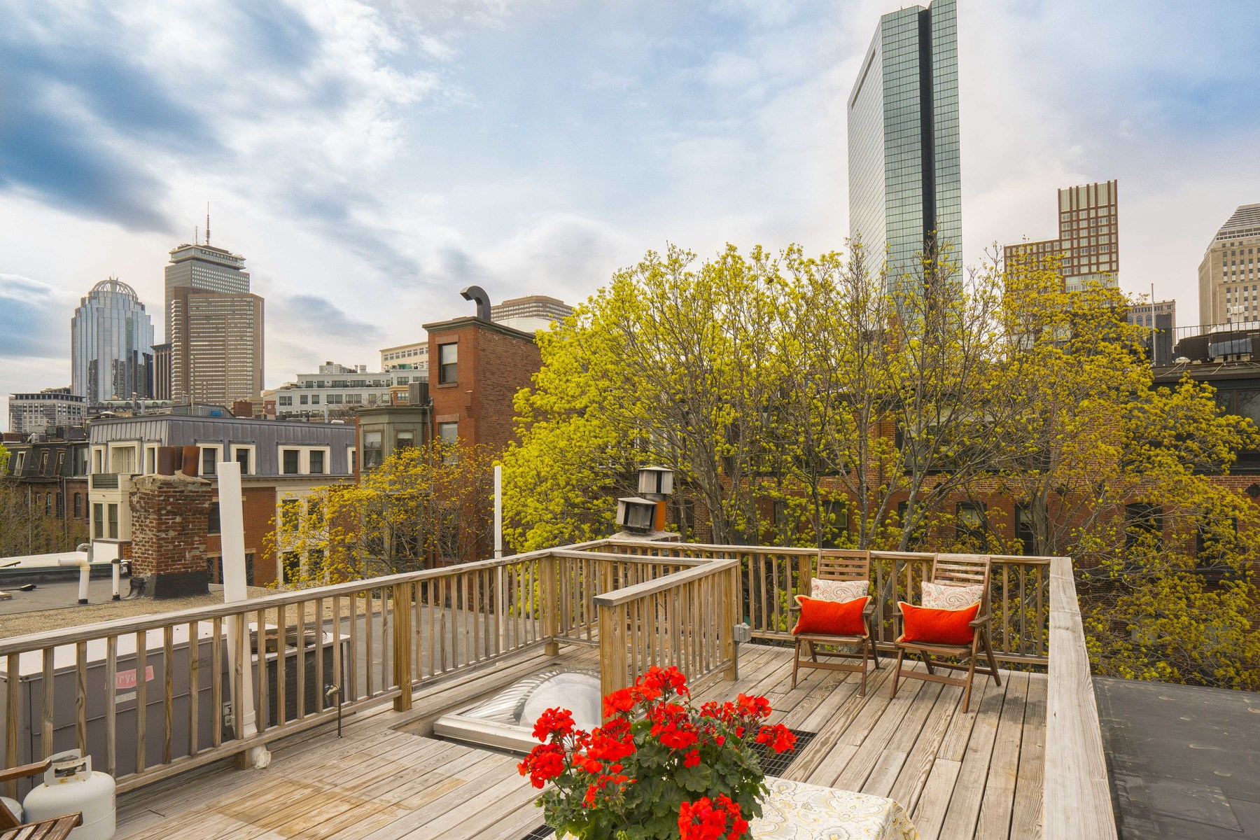 Single Family Home for Sale at Location, Location, Location ! Beautiful Penthouse duplex with huge Private Roof 24 Lawrence Unit 2 South End, Boston, Massachusetts, 02116 United States