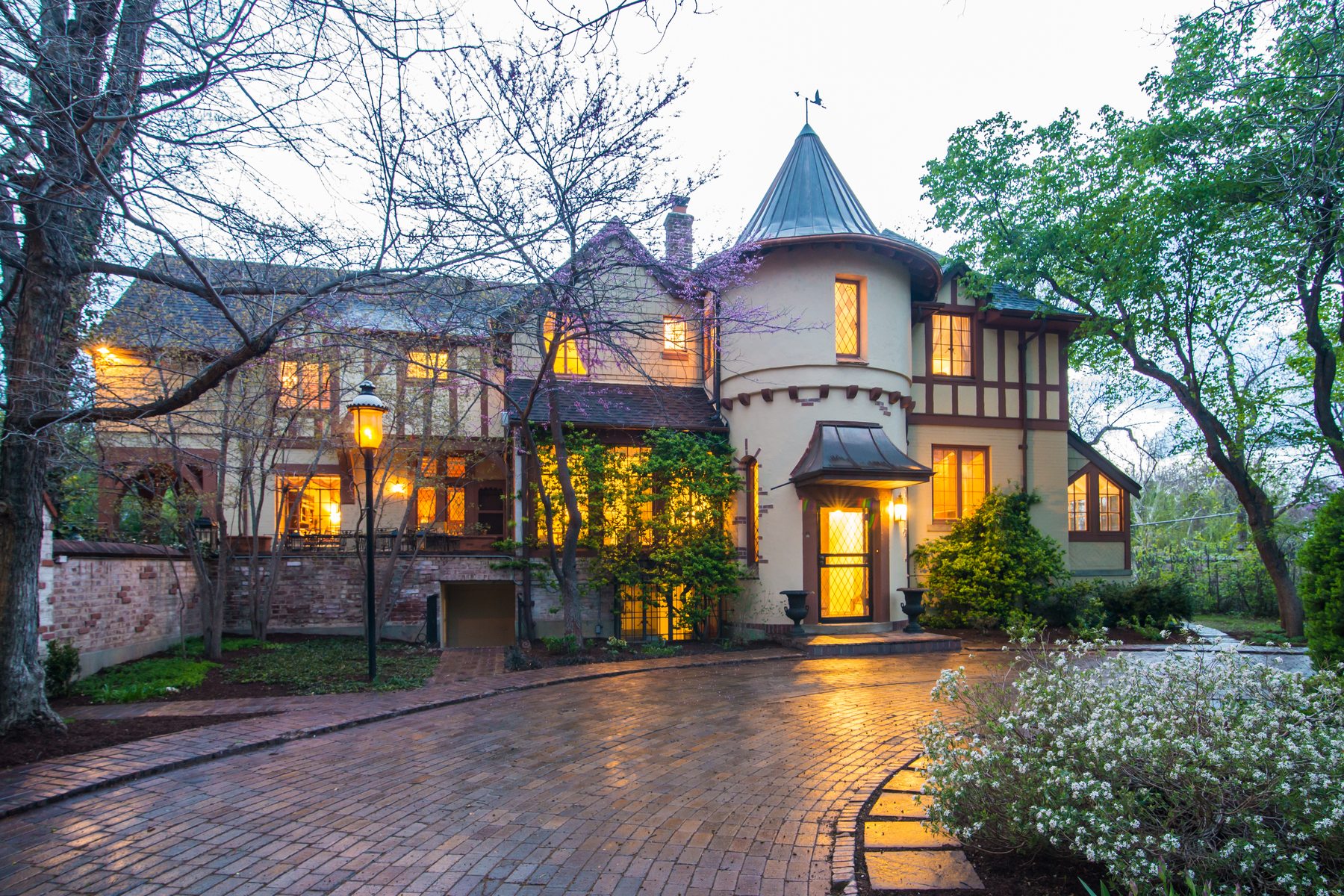 sales property at Stately Tudor Styled Home that Exudes Observatory Park History & Charm