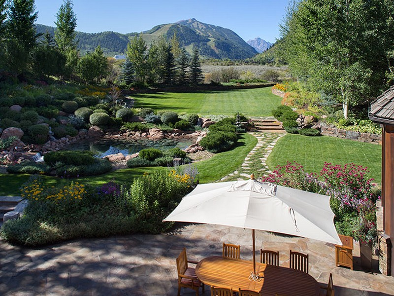Single Family Home for Sale at Have your own private park in Aspen! 73 Hideaway Lane Aspen, Colorado 81611 United States